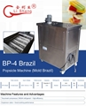 4 Mold Brazil Hourly 240 Popsicle Commercial Ice Cream Popsicle Making Machine