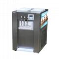 BQ332A台式商用软冰淇淋机 小型软质冰激凌机 三色雪糕机