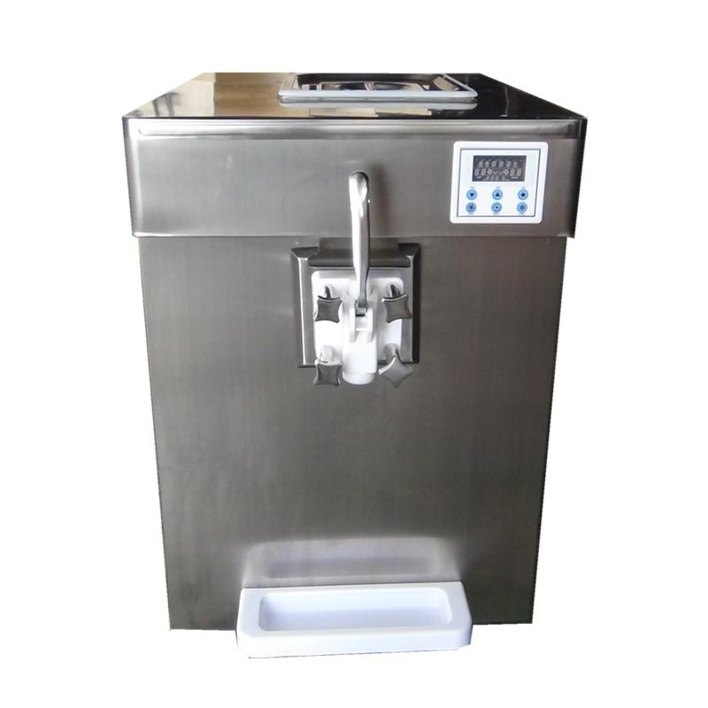 Single Flavor Commercial Countertop Soft Serve Frozen Yogurt Machine