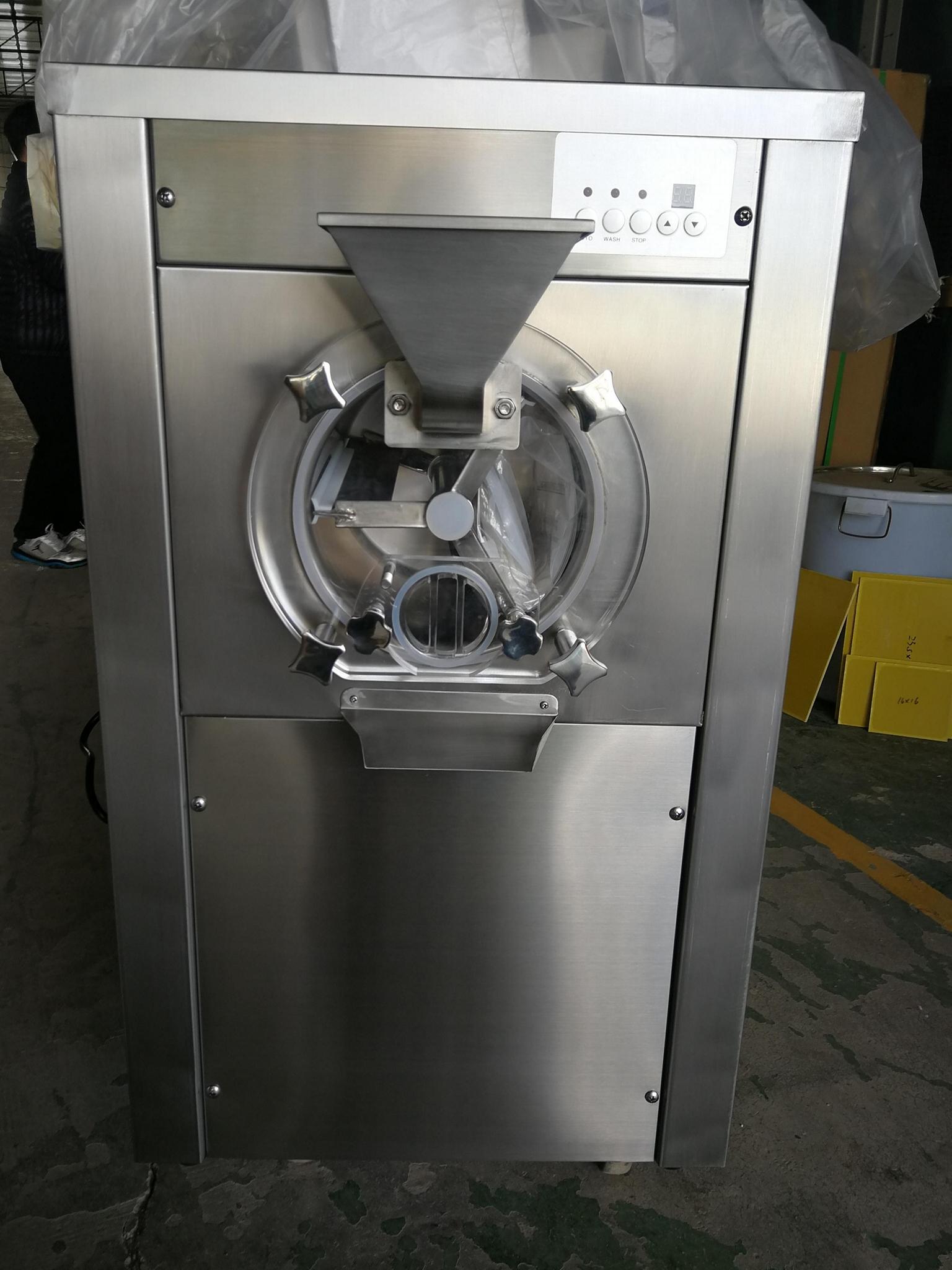 Hourly 20 Liters Commercial Countertop Gelato Ice Cream Batch Freezer For Sale