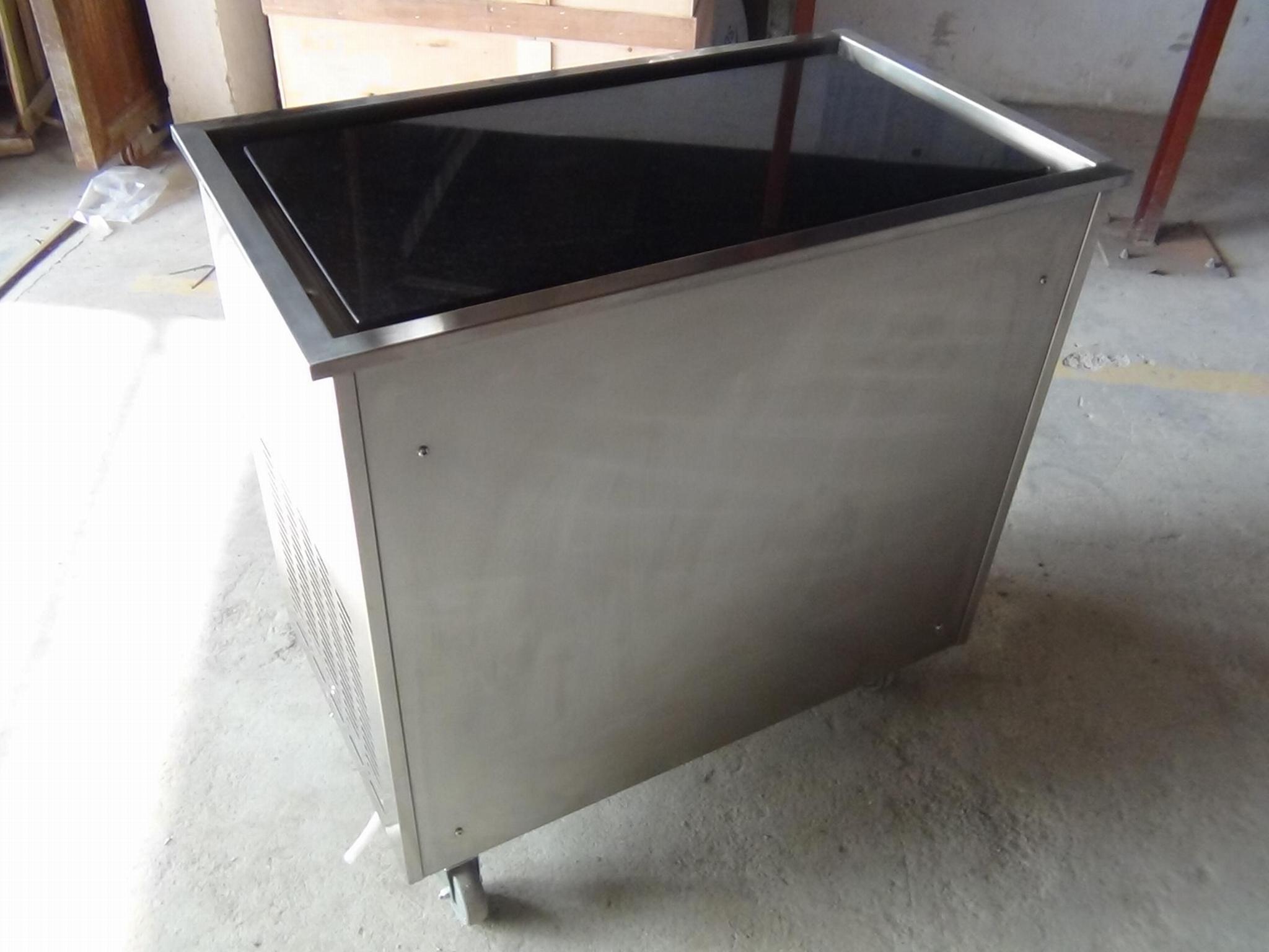 炒冰机商用 大理石炒冰机