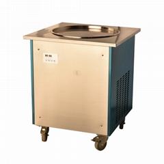 炒冰机商用 单锅炒冰机 小型炒冰淇淋冰激凌卷机