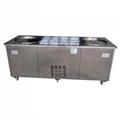 双锅炒冰机 商用炒冰机 炒冰机