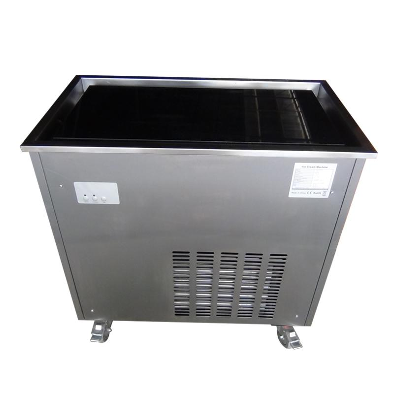 Cold Ctone Marble Slab Top Fry Ice Cream Machine Price