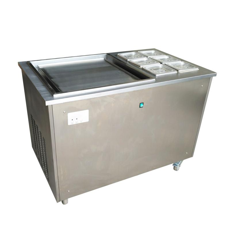 商用炒冰机 炒冰淇淋设备 泰式炒冰淇淋冰激凌卷机