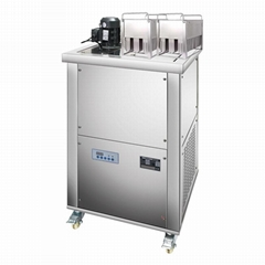 2 Basket Mold Each Output 80 Popsicle Commercial Ice Pop Machine For Sale