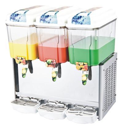LRSJ12LX3 3缸商用冷热果汁机