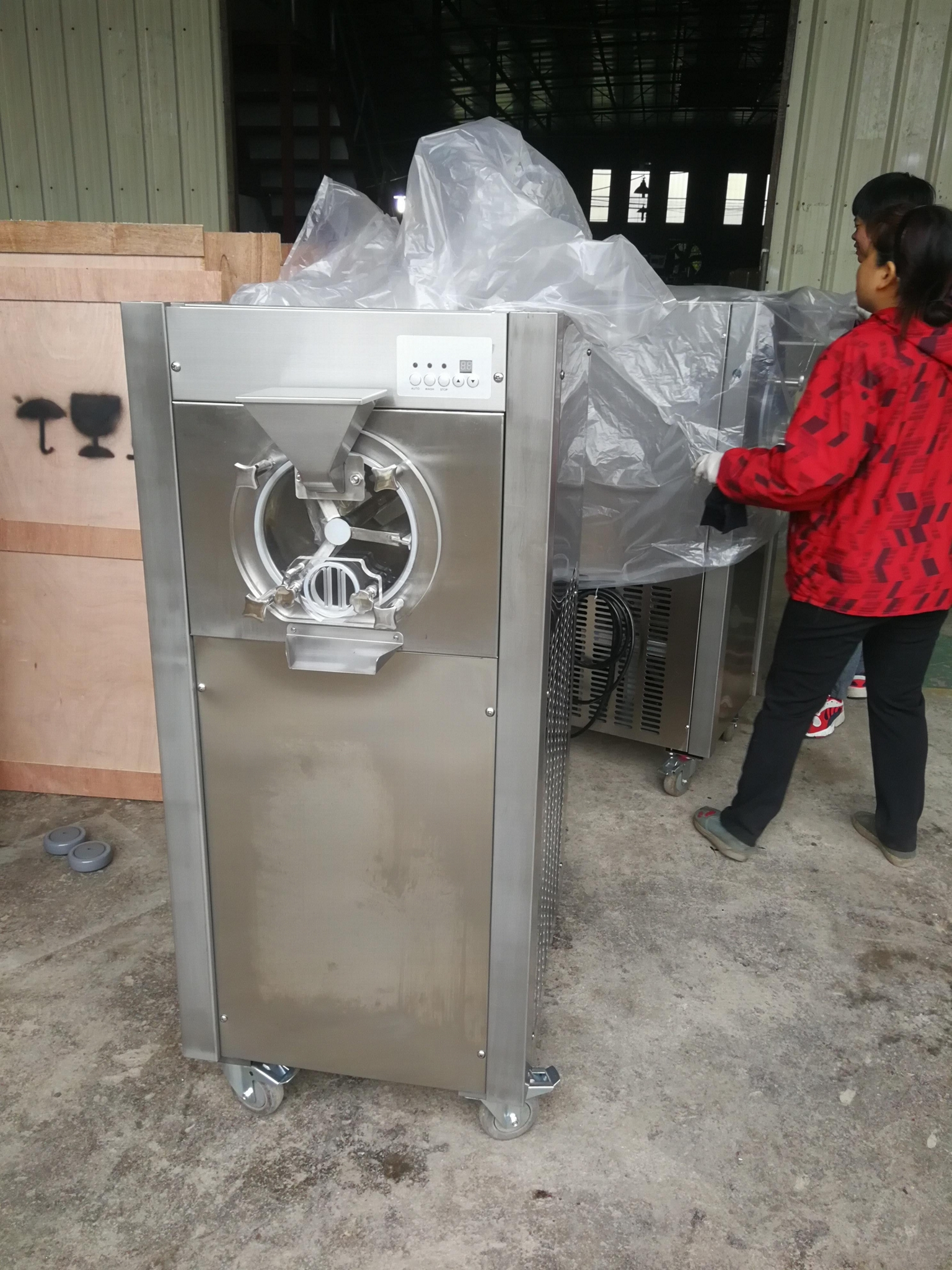 Big Capacity Commercial Hard Ice Cream Making Machine