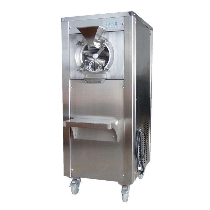 YB-20商用立式硬冰机 雪糕机奶茶店设备 立式硬冰淇淋机