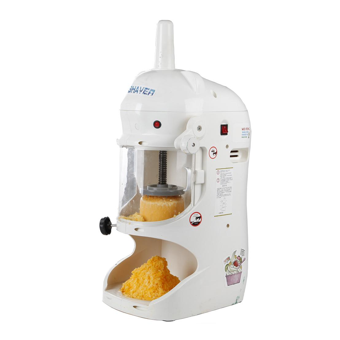 Commercial Taiwanese Paper Thin Shaved Ice Cream Machine ...