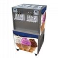 Hourly Capacity 60 Liters Commercial Icecream Maker Ice Cream Machine