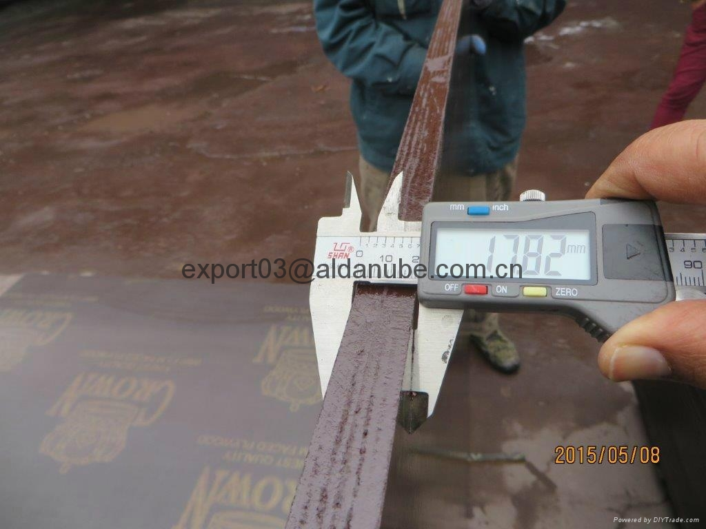 CROWN film faced plywood building and construction plywood