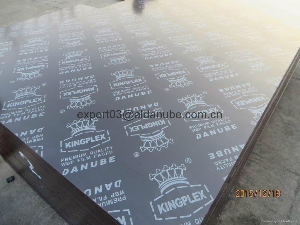 KINGPLEX BRAND FILM FACED PLYWOOD marine plywood