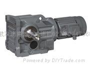K spiral bevel gear reducer-Helical-bevel Gear Units