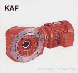 K spiral bevel gear reducer-Helical-bevel Gear Units 5