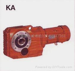 K spiral bevel gear reducer-Helical-bevel Gear Units 3