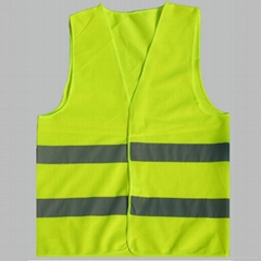 园林市政工程荧光马甲 工地施工反光衣