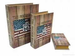 canvas book box