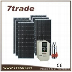 5.5HP Solar water pump MPPT controller system for city fountain