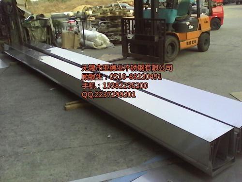無錫304不鏽鋼天溝加工 2