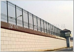監獄防攀護欄網