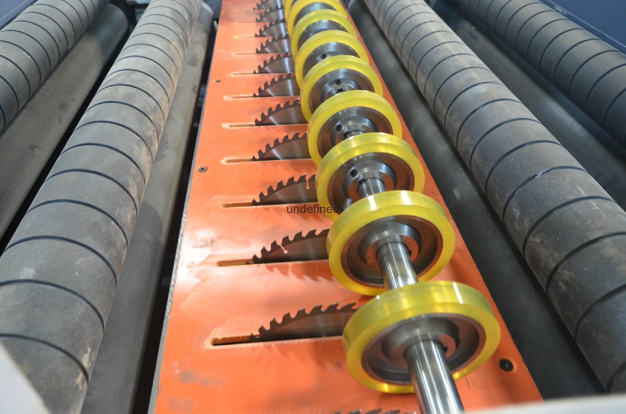 板式多片鋸 1300木板開條機 3
