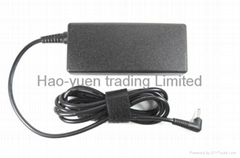 AC power supplier 65W adapter for ASUS laptop