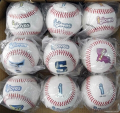 Cow Leather Surface Material and rubber & cork Filling genuine leather baseball