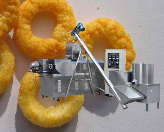 双螺杆休闲膨化小食品生产线 1
