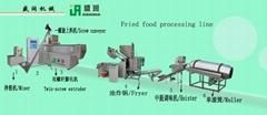 油炸膨化小食品生产线