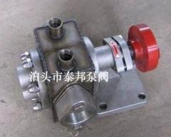 KCB不锈钢保温泵型