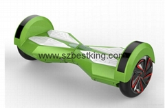 2015 lastest 8 inches electric balance wheels with led light and bluetooth