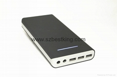 15600mAh Portable Laptop Power Bank 19V 4A