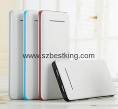 Fashionable Best Seller 12000mAh Power Bank with LED Lighting