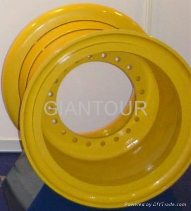 Sell OTR steel rim mining wheel for wheel loader dozer grader