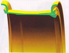 BELAZ 75302 rim assy for BELAZ 75302 Dump Truck