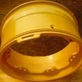 Sell mining wheel OTR steel rim wheel for giant dump truck Caterpillar CAT777D