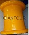 Sell mining wheel OTR steel rim wheel for giant dump truck Caterpillar CAT771