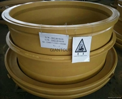 Sell mining wheel OTR steel rim wheel for dump truck Belaz BELAZ 130T BELAZ 7512