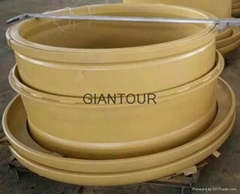 OTR dump truck wheel rim 57x29.00/6.0 for BELAZ 220T BELAZ 75306