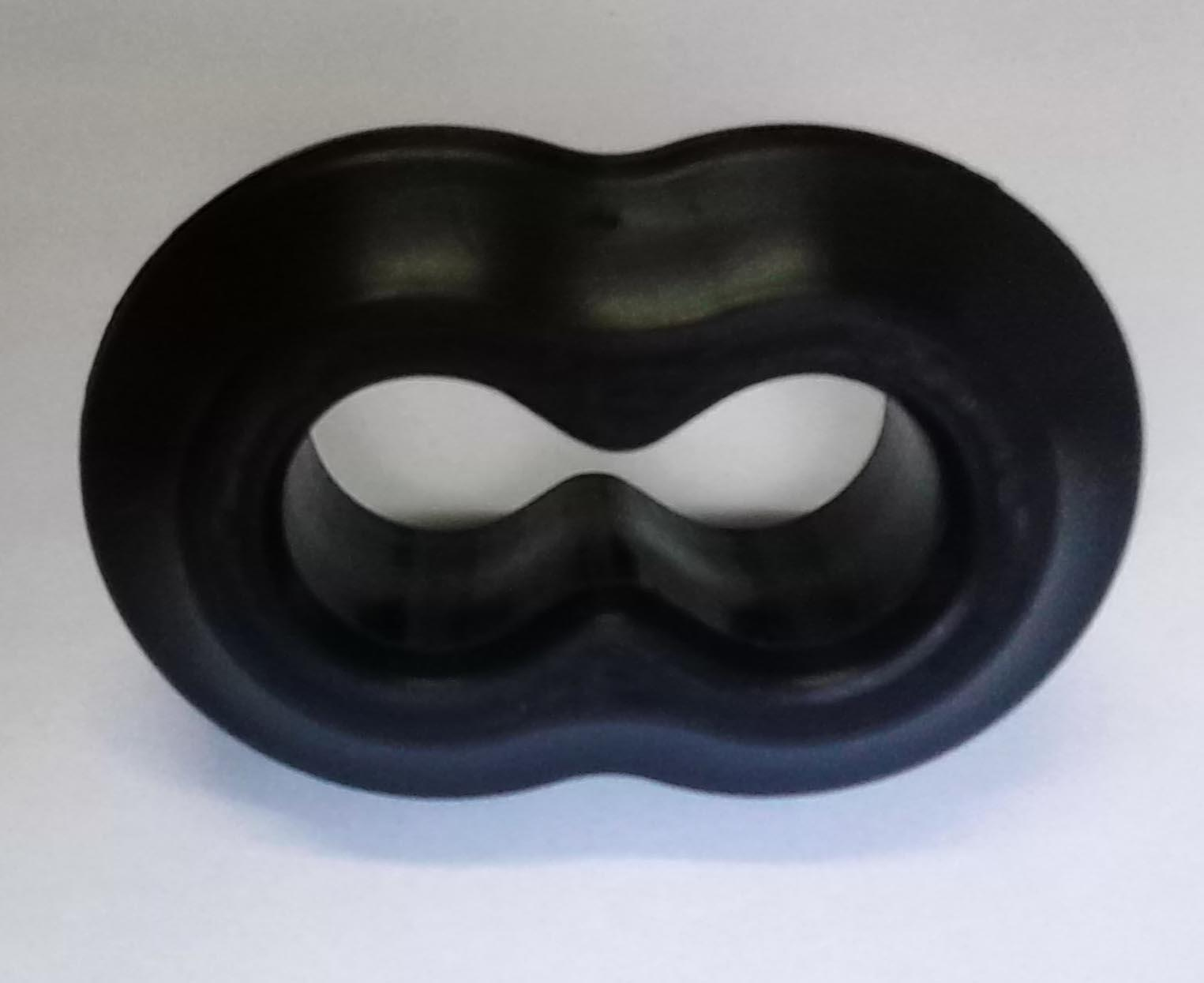 Customized Molded EPDM Rubber Products Rubber Parts For Industrial Usage