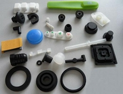 Molded CR Rubber Products Rubber Parts For Industrial Usage
