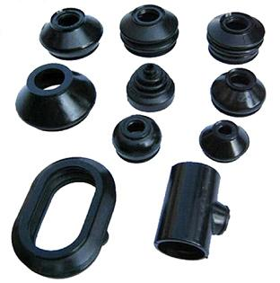 Customized Molded CR Rubber Products Rubber Parts For Industrial Usage 2
