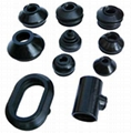 Customized Molded CR Rubber Products Rubber Parts For Industrial Usage
