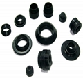 Customized Molded CR Rubber Products Rubber Parts For Industrial Usage 3