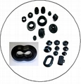 Customized Molded NR Natural Rubber Products Rubber Parts For Industrial Usage 2