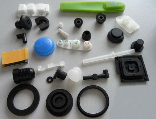 Customized Molded SI Rubber Products Rubber Parts 2