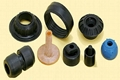 Customized Molded SI Rubber Products Rubber Parts 3