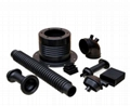 Customized Molded Rubber Products Parts/EPDM/Silicone/NR/NBR 3