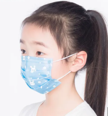 Medical and Civilian use Kids mask, 3ply disposable face mask for Kids